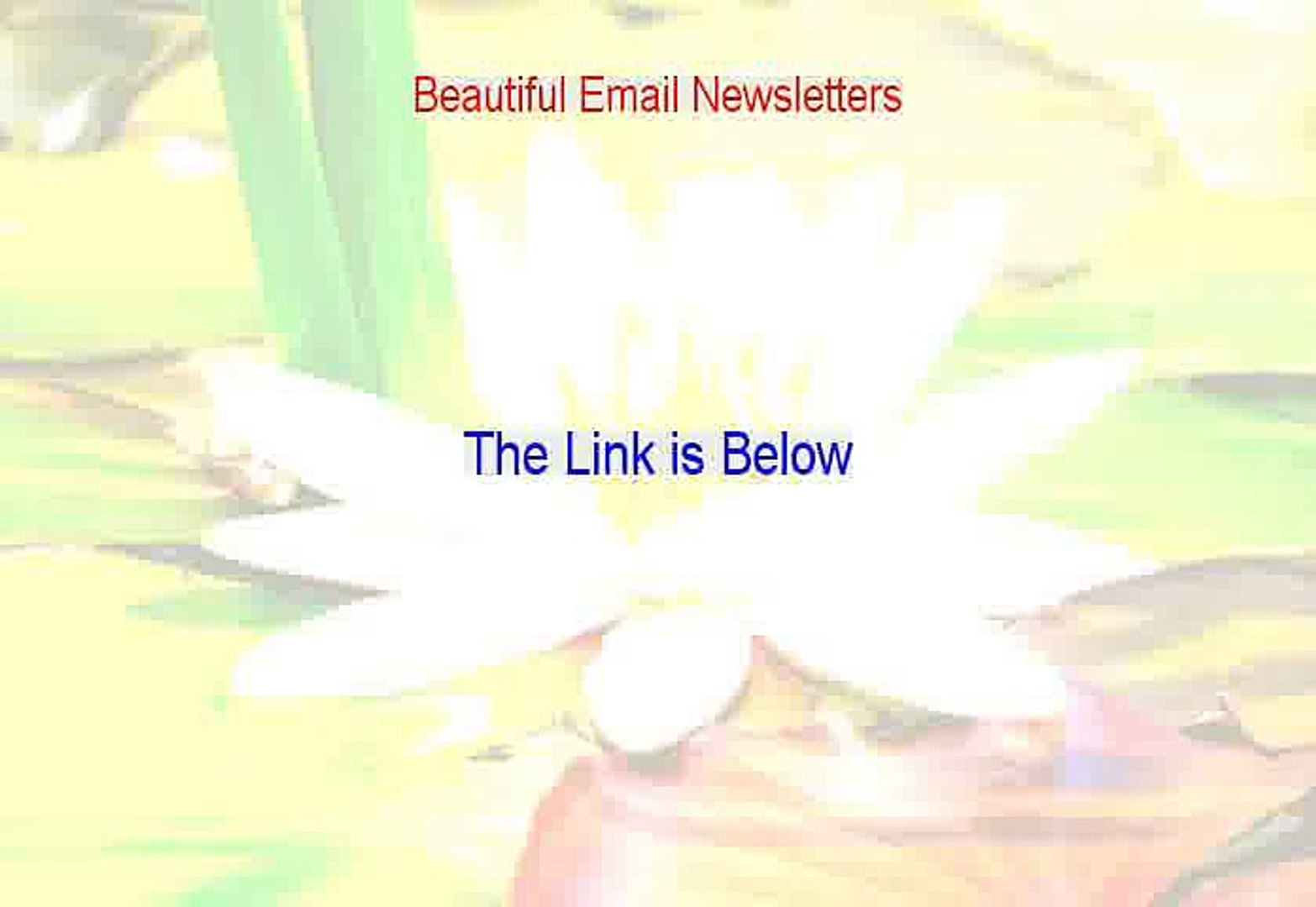 Beautiful Email Newsletters Download [send beautiful email newsletters]