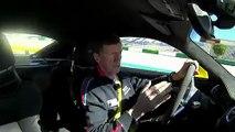 Walter Röhrl al volante del Porsche Cayman GT4