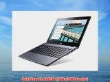 Acer C720-3871 11.6-Inch Chromebook (Intel Core i3 2 GB) Granite Gray