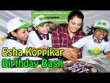 Isha Koppikar Celebrating Her Birthday With Childrens