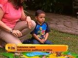 Aprenda cómo detectar las discapacidades auditivas en los niños