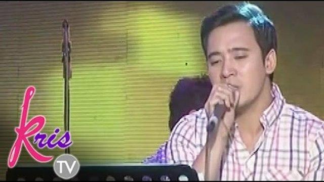 Erik Santos sings 'Let Her Go' on Kris TV