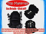 2xhome -Large Deluxe Pro Photo Studio Camera Case Carry Shoulder Travel Bag Photography Backpack