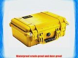 Pelican 1450 Case with Foam for Camera (Yellow)