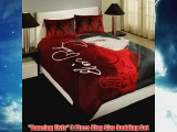 Dancing Elvis 3 Piece King Size Bedding Set