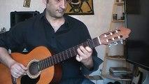 Une guitare jouable sur Beautiful Tango Hindi Zahra (Cours de guitare pour Débutants)