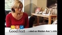 Buffalo Good Feet foot pain plantar fasciitis relief heel pain orthotics arch supports orthopedics