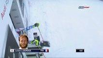 Julien Lizeroux rate totalement son départ en faisant un salto ! | Championnat du monde de Slalom ( Meribel)