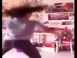 رقص منازل رقص بنوتا حلوة ومثيرة جدا تهز الموخره بطريقة مثيرة جدا