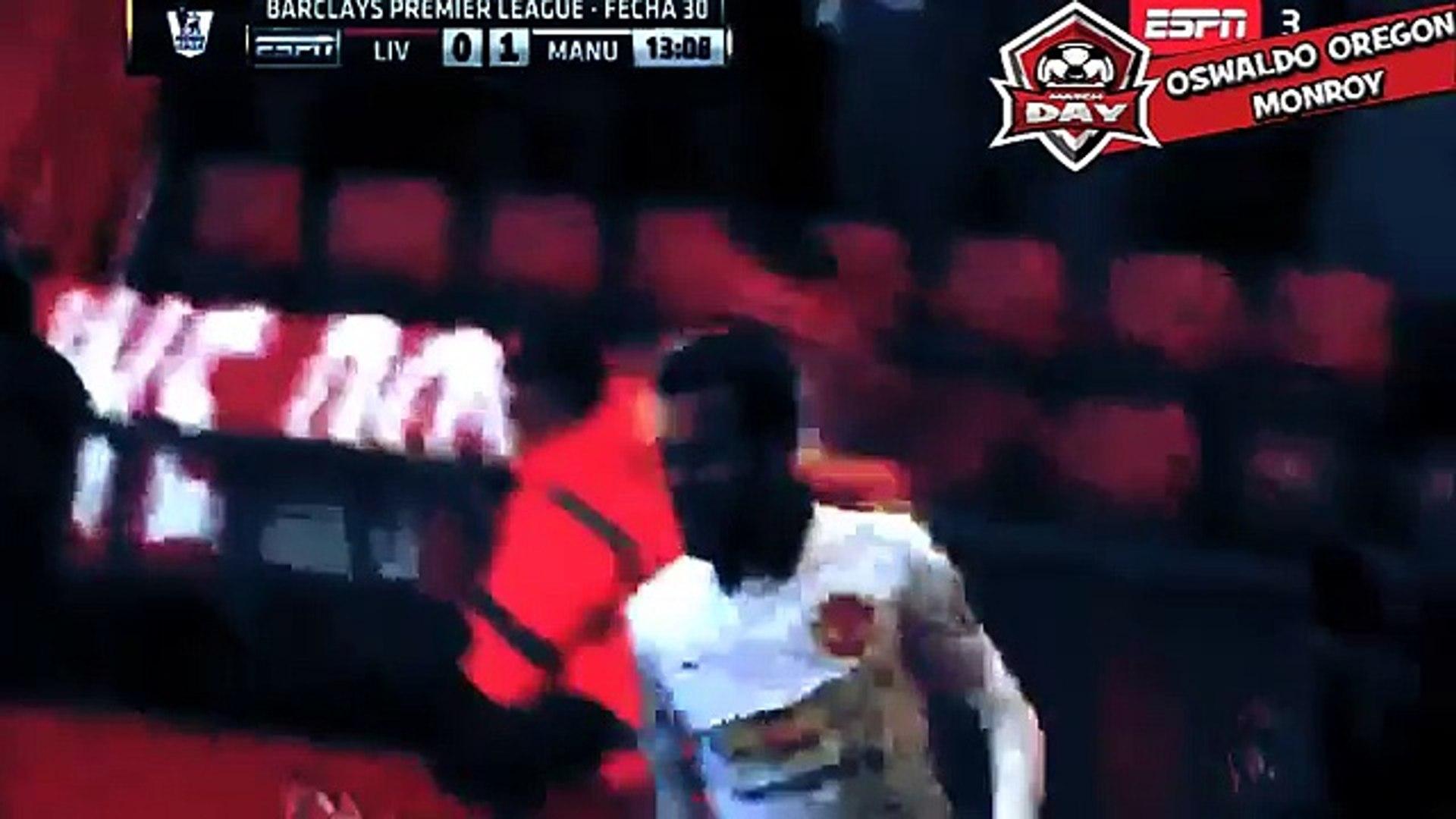 Juan Mata Goal - Liverpool vs Manchester United 0-1 2015 - Manchester United vs Liverpool 2015