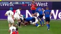 Il brise presque la nuque de son adversaire au rugby
