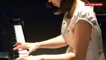 Landerneau. Une pianiste virtuose japonaise de passage à l'école de musique