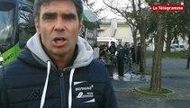 Cyclisme. Cholet Pays de Loire : la réaction de Roger Tréhin après la victoire de Fédrigo
