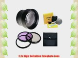 Fujifilm X-S1 2.2x High Definition Super Telephoto Lens   62mm 3 Piece Filter Kit   Stepping