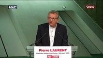 """Pierre Laurent : """"Il est de notre devoir de femmes et d'hommes de gauche de tout faire pour empêcher la victoire de candidats du front national"""""""