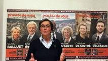 Elections départementales à Rouen: réaction de valérie Fourneyron