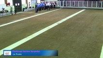 Présentation des équipes, finale du Challenge Serfim-Serpollet, Sport Boules, Lyon Sport Métropole 2015