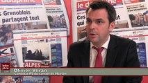 Olivier Veran (PS) arrive 2ème du canton de Meylan aux #Départementales2015