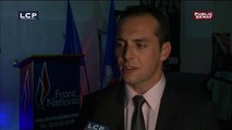 Réaction de Joris Hébrard (FN) élu dans le Vaucluse