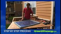 Green DIY Energy offers step-by-step instructions to create solar panels for less than $200 each.