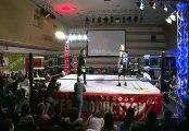 Shuji Kondo & Daiki Inaba vs. NOSAWA Rongai & MAZADA (Wrestle-1)
