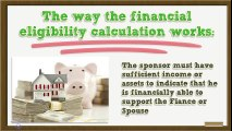 2015 Financial Eligibility Requirements for Fiance Visa + Spouse Visa