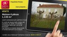 A vendre - maison - SAINT GERMAIN SUR SARTHE (72130) - 4 pièces - 1 130m²
