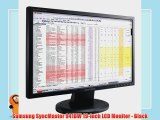 Samsung SyncMaster 941BW 19-inch LCD Monitor - Black