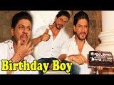 King Of Bollywood Shahrukh Khan Celebrating His Birthday