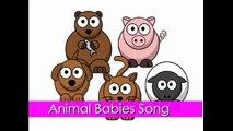 Baby Animals Song Animal Babies Songs for Children Kids Kindergarten
