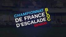 Championnat de France d'escalade de bloc / Finales (REPLAY)