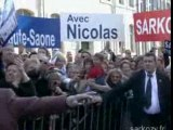 Nicolas Sarkozy en Haute-Saone et Doubs