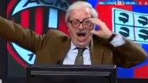 AC Milan : les buts de Ménez et Mexès rendent fou un commentateur italien !