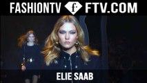 Elie Saab Fall/Winter 2015 Show ft. Karlie Kloss & Anja Rubik   Paris Fashion Week PFW   FashionTV