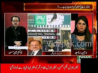 Gen. (R) Hameed Gul great reply to Narendra Modi for increasing Indian defense budget
