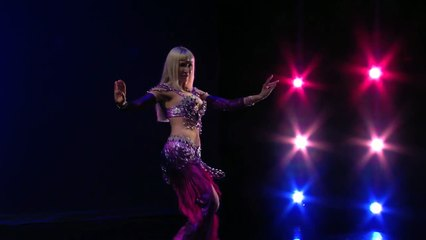 Wave of Destiny  belly dance    Neon    bellydance star performance