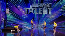 Face Team basketball acrobatics - Britain s Got Talent 2012 audition - International version