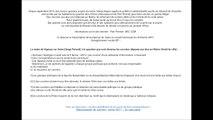 Que sont devenus les courriers déposés en Mairie pour les élus, soit 2x35 courriers - Vigneux Sur Seine 91 -  Extrait Conseil municipal du 26 Février 2015