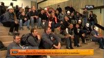 Métropole: les grévistes évacués par les CRS
