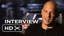 Furious 7 Interview - Vin Diesel (2015) - Paul Walker, Michelle Rodriguez Movie _HD