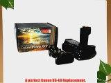 Vivitar BG-E8 Battery Grip for Canon EOS Rebel T5i T4i T3i T2i DSLR Cameras (Canon BG-E8 Replacement)