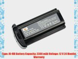 DSTE? NP-E3 Rechargeable Ni-MH Battery for Canon EOS 1D EOS 1D MarkII EOS 1D MarkII N EOS 1DS