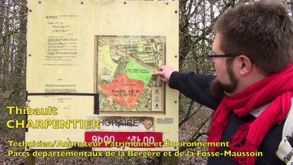 La Fosse Maussoin aujourd'hui : le plan