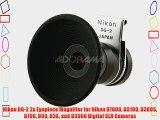 Nikon DG-2 2x Eyepiece Magnifier for Nikon D7000 D3100 D300S D700 D90 D3X and D3000 Digital