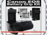 New Vertical Battery Grip With Shutter Release For Canon EOS T1I XSI XS 450D 500D 1000D Digital