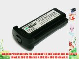 Wasabi Power Battery for Canon NP-E3 and Canon EOS 1D EOS 1D Mark II EOS 1D Mark II N EOS 1Ds