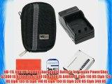 Starter Accessory Kit for Canon PowerShot Elph 110 Elph 130 Elph 135 IS Elph 140 IS Elph 150