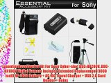 Essential Accessories Kit For Sony Cyber-shot DSC-HX200V DSC-HX100V Digital Camera Includes