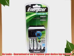 Energizer Smart Rechargeable Charger for AA AAA Batteries wi