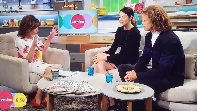 Sam Heughan and Caitriona Balfe Interview on Lorraine